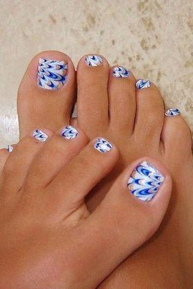 bianco e blu estate